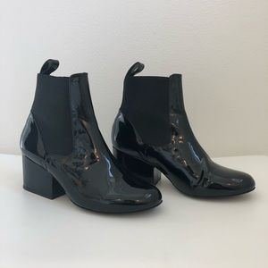 Robert Clergerie patent leather boots 6